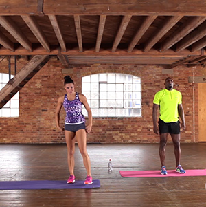 Try A Half Hour Gladiator Body Blast With Jenny Pacey