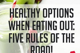 healthy options when eating out