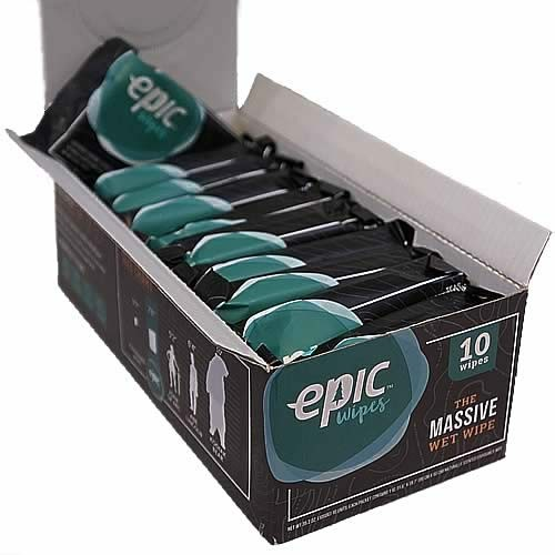 Epic Wipes Recommended running gear