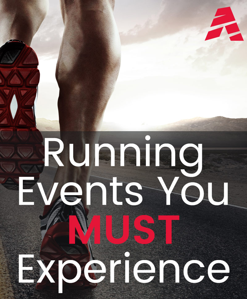 Upcoming marathons and running events You MUST Experience