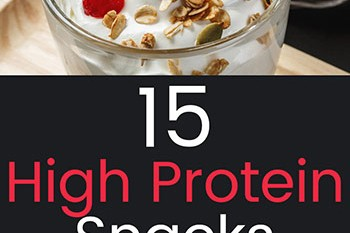 15 High Protein Snacks
