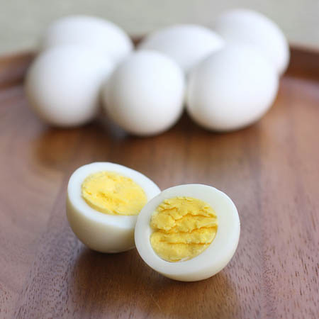 Hard Boiled Egg protein snacks