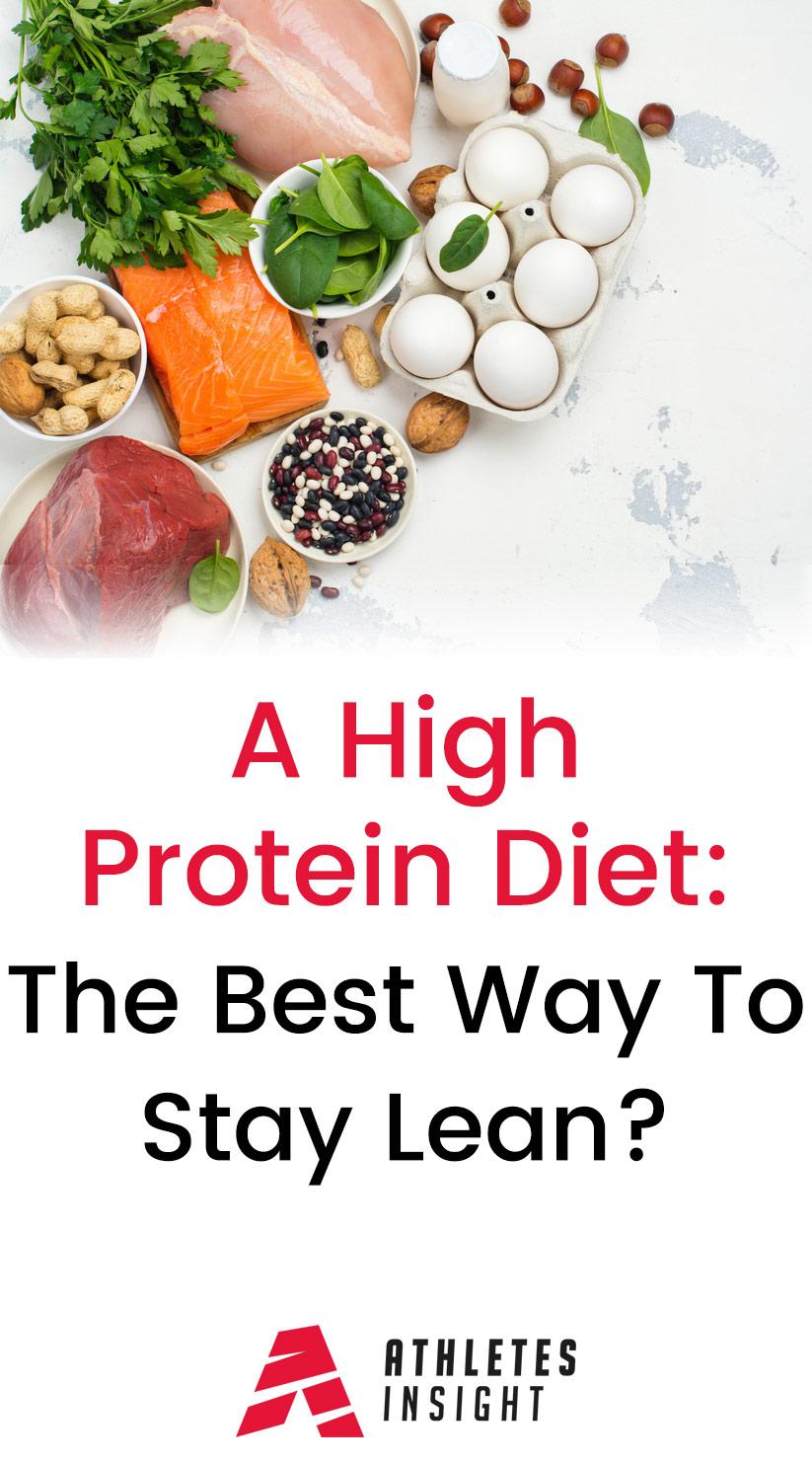 A High Protein Diet