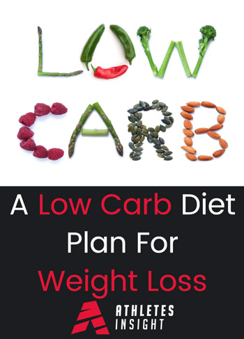 A Low Carb Diet Plan For Weight Loss Athletes Insight Nutrition