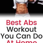 Best Abs Workout You Can Do At Home