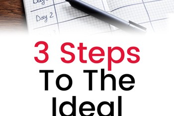 3 Steps To The Ideal Meal Plan