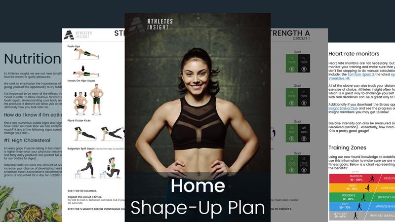 Home Shape-Up Plan