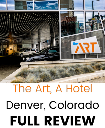 The Art A Hotel Denver Colorado Full Review Athletes