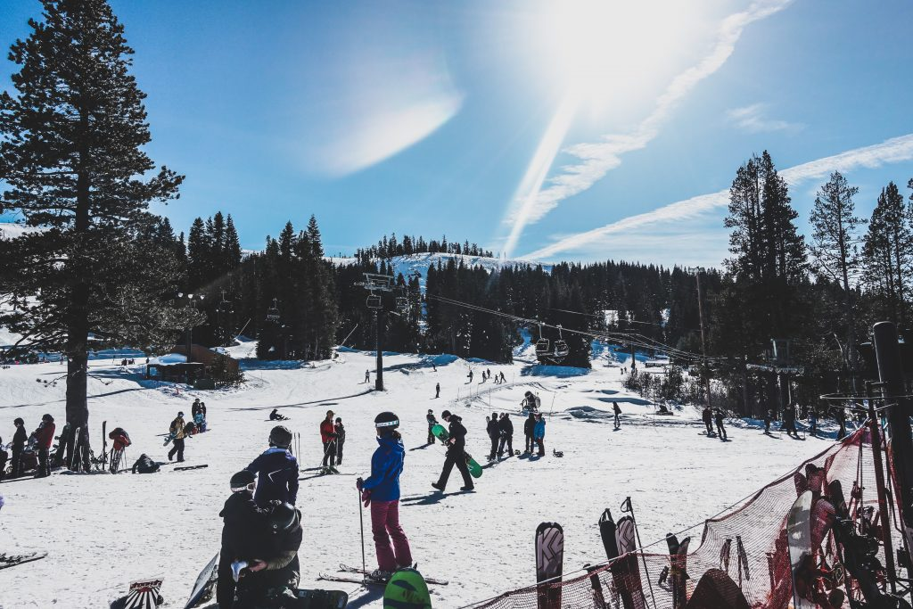 Boreal Mountain Resort. Soda Springs, California