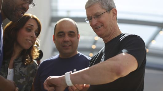 Tim Cook Apple Wearables